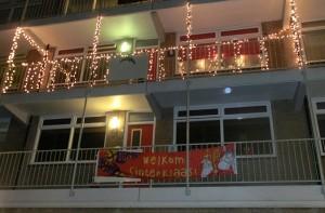 sinterkerst balkon